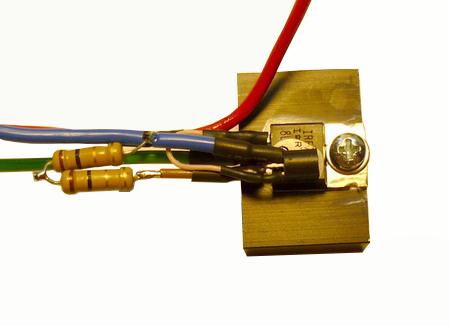 Драйвер мощных светодиодов с радиатором