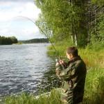 Рыбалка на Илексе