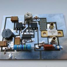 Генератор ВЧ на маленьком MOSFET MRF284  со съемными резонаторами