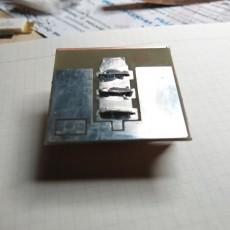 Коллекторная плата трехтранзисторного генератора