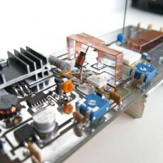 ВЧ-мультивибратор + усилитель на MOSFET