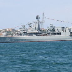 Гетман Сагайдачный - флагман украинского ВМФ 2013г.