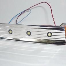Вид светодиодов со стороны отражателя