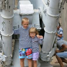 Музей, база подводных лодок в Балаклаве