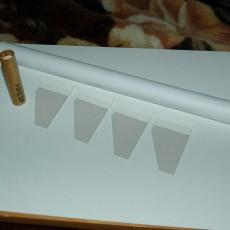 Компоненты для изготовления модели ракеты
