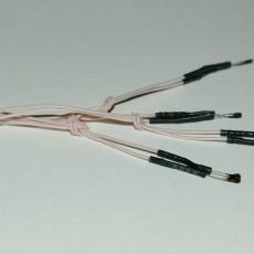 Электровоспламенитель с удлиненными контактами