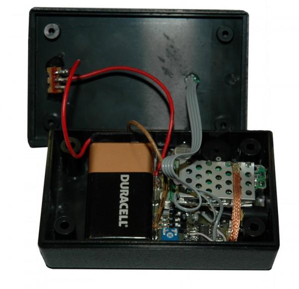 Экспериментальный лазерный генератор/детектор в сборе