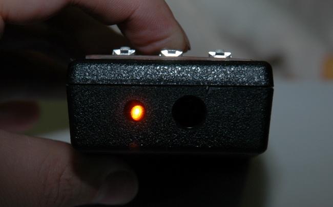 Работающий полупроводниковый ИК-лазер
