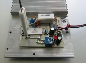 ВЧ-генератор на транзисторе MRF9085, топология элементов.