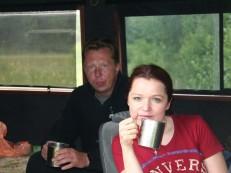Чайная церемония в дороге
