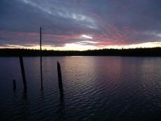 Фиолетовый закат