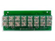Светодиодный модуль LM-16-6V на плате SR-8C-6V
