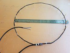 Антенна для экспериментального детектора грозы