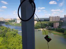 Гроза будет. Испытание различных видов детекторов грозы на балконе.